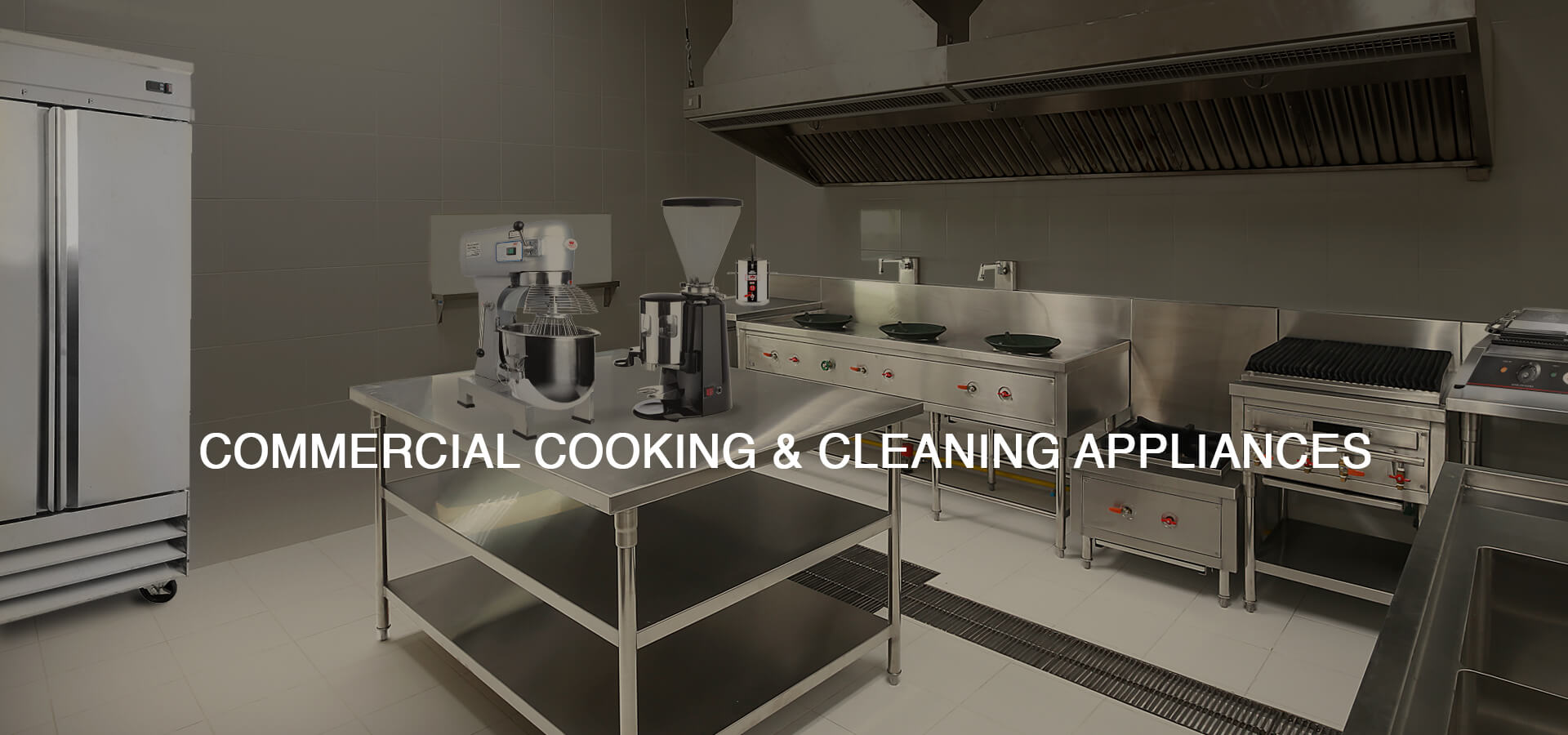 Commercial Cooking & Cleaning Appliances at Caterina